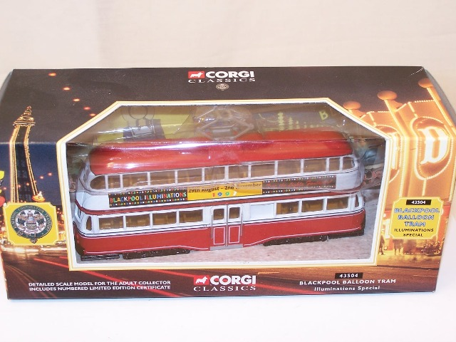 Picture Gallery for Corgi 43504 Blackpool Balloon Tram
