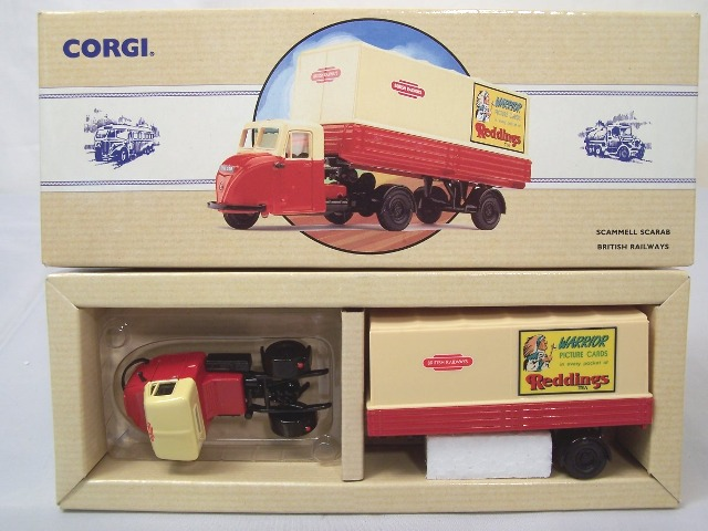 Picture Gallery for Corgi 97911 Scammell Scarab
