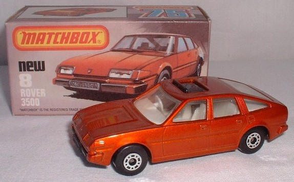 Picture Gallery for Matchbox 8h Rover 3500
