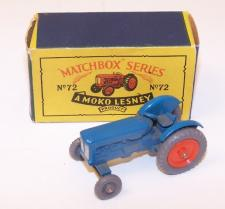 Picture Gallery for Matchbox 72a Fordson Major tractor