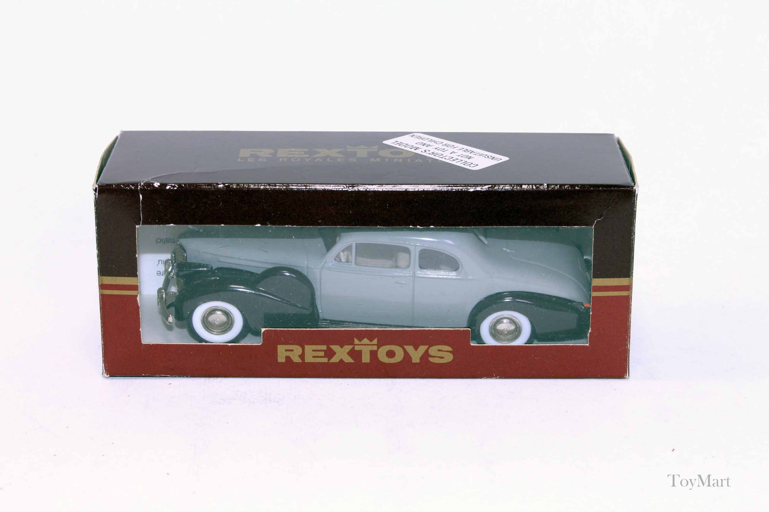 Picture Gallery for Rextoys 12 Cadillac V16 1938-1940