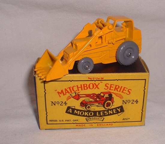 Picture Gallery for Matchbox 24b Hydraulic Excavator
