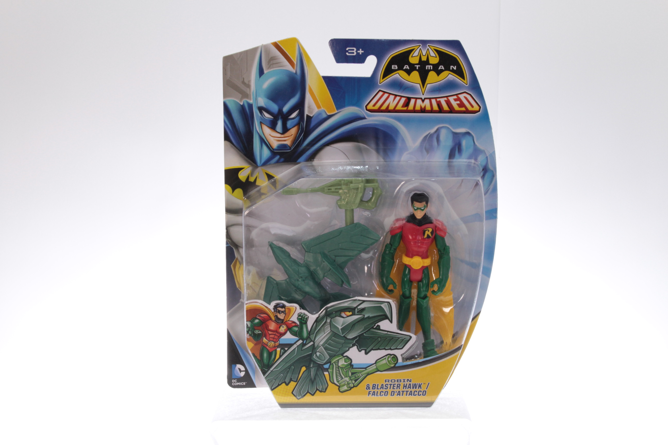 Picture Gallery for Mattel CDV95 Robin and Blaster Hawk