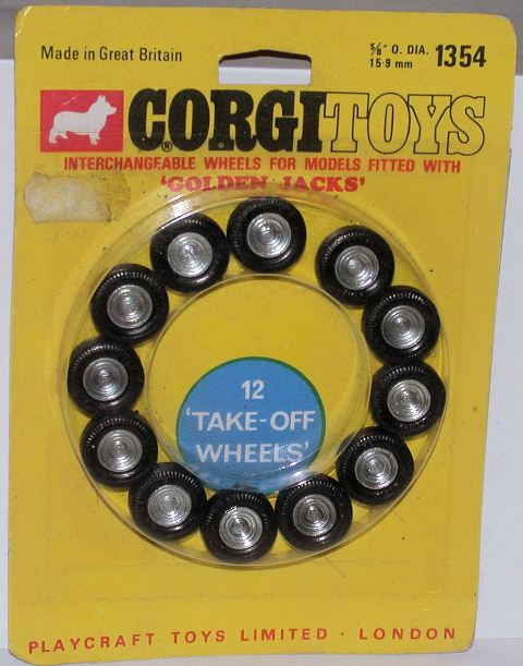 Picture Gallery for Corgi 1354 12 Take Off Wheels
