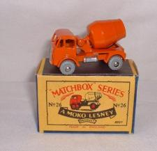 Picture Gallery for Matchbox 26a E.R.F Cement Mixer
