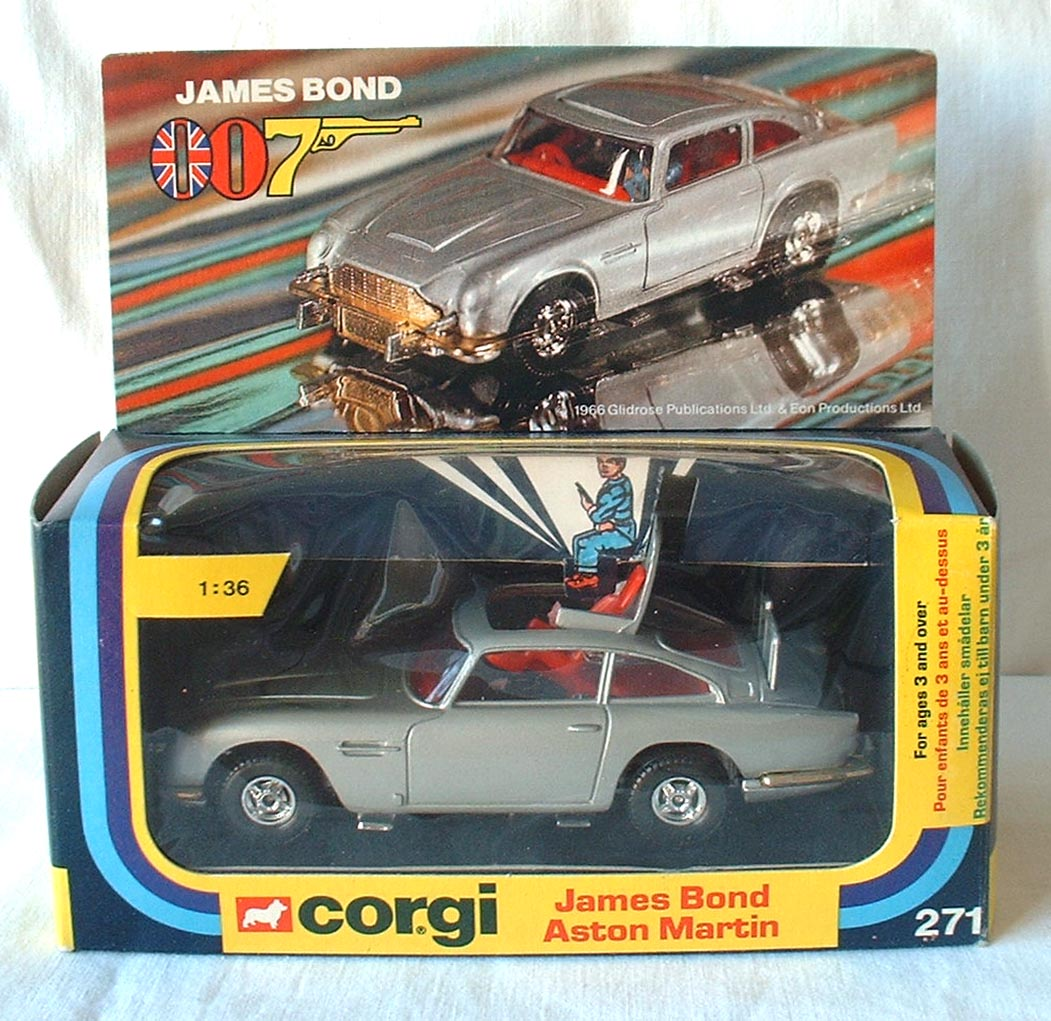 corgi 271, james bond aston martin - buy, sell, review & free