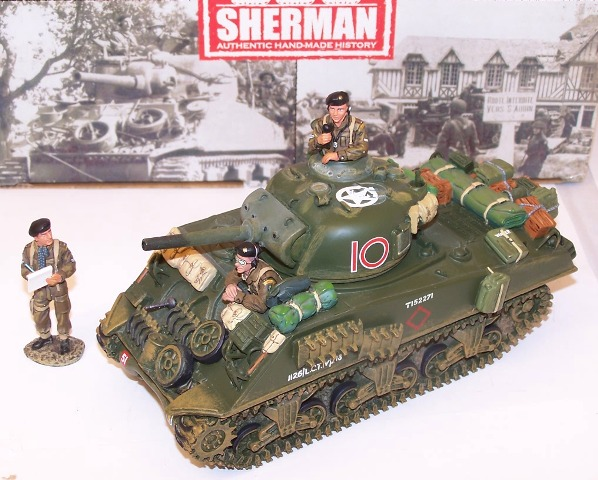 Picture Gallery for King  Country DD65 British Sherman Tank