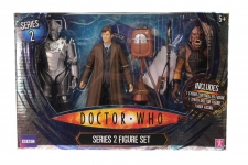 Character Options #03327 - Dr Who Series 2 Set - 3 Figures