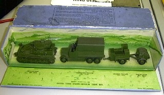 Picture Gallery for Dinky 151 Royal Tank Corps Medium Tank Set