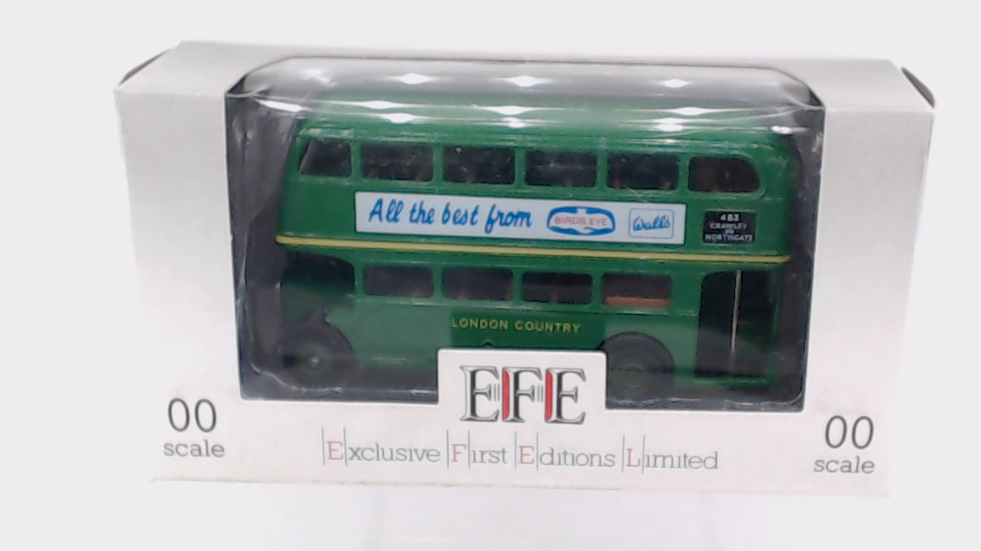 Picture Gallery for EFE E10103 Bus - Birds Eye