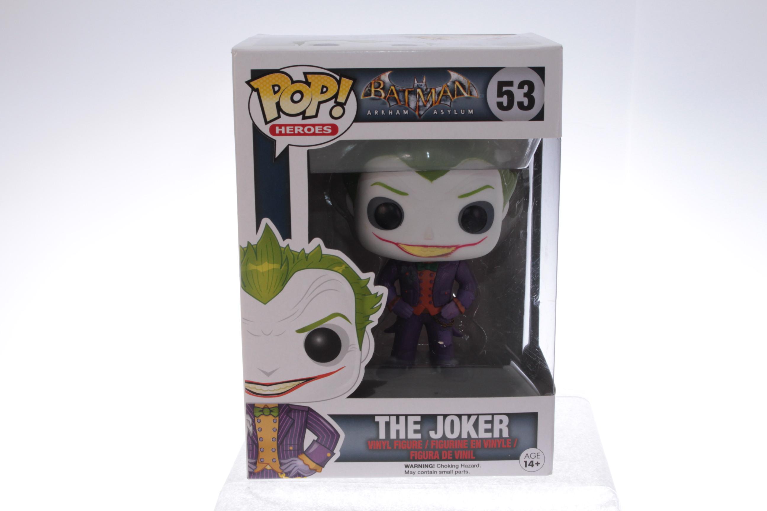 Lot 2 Pcs Dc Comics The Joker  Ultra Rare 3.75/'/' action figures Movies Toys Gift