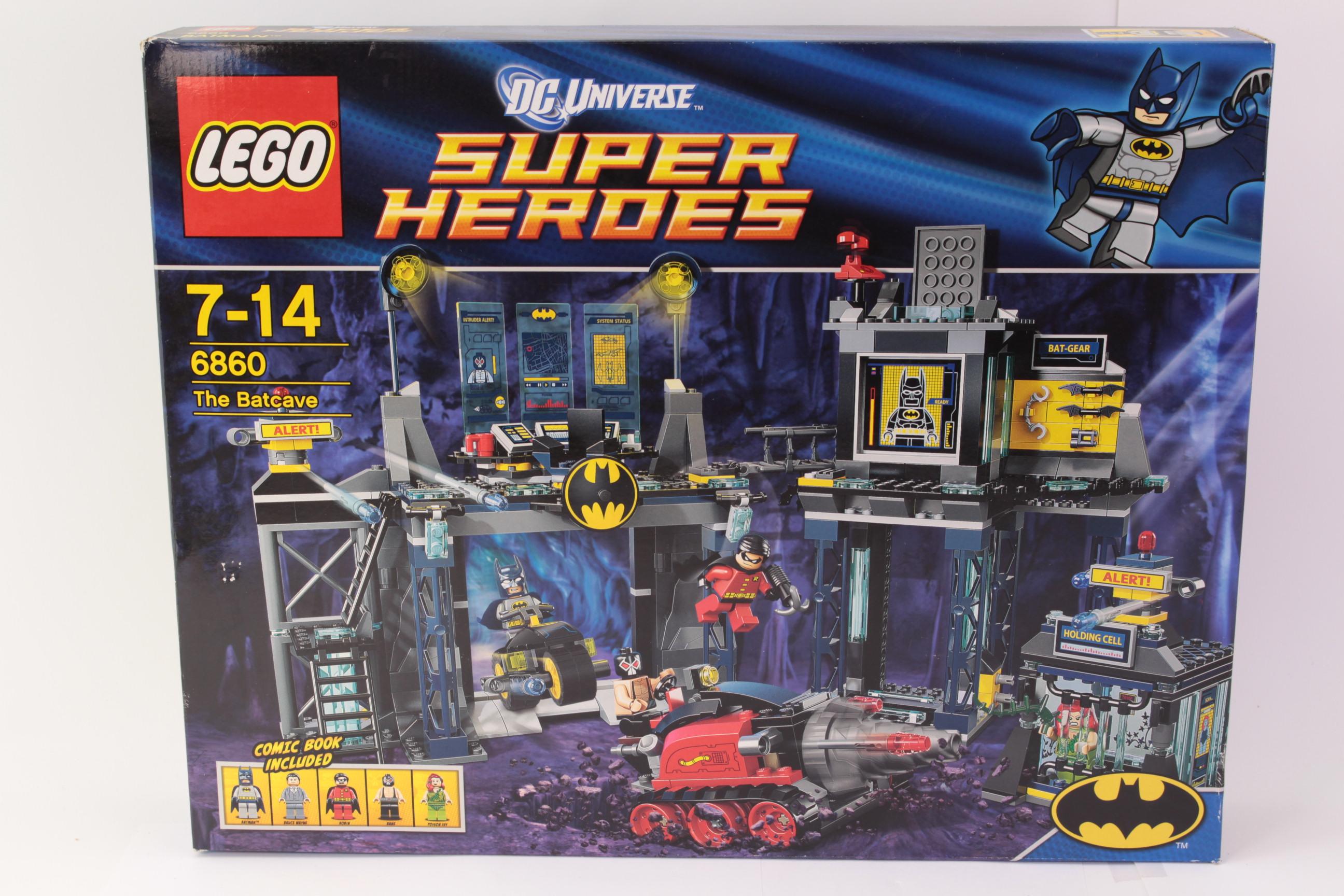 Lego 6860 The Batcave