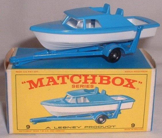 Picture Gallery for Matchbox 9d Boat and Trailer