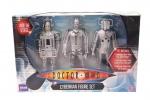 Dr Who Cyberman Figure Set