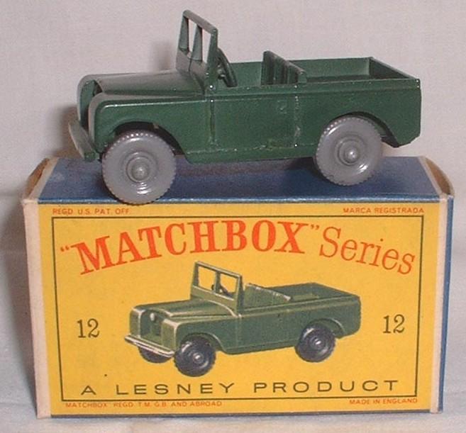 Matchbox 12b, Land Rover Series 2