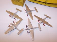 Picture Gallery for Dinky 70d Twin Engined Fighter