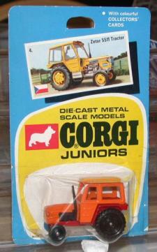 Picture Gallery for Corgi Juniors 4 Zetor 5511 tractor