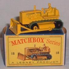Repro box Matchbox Superfast nº 64 caterpillar Bulldozer