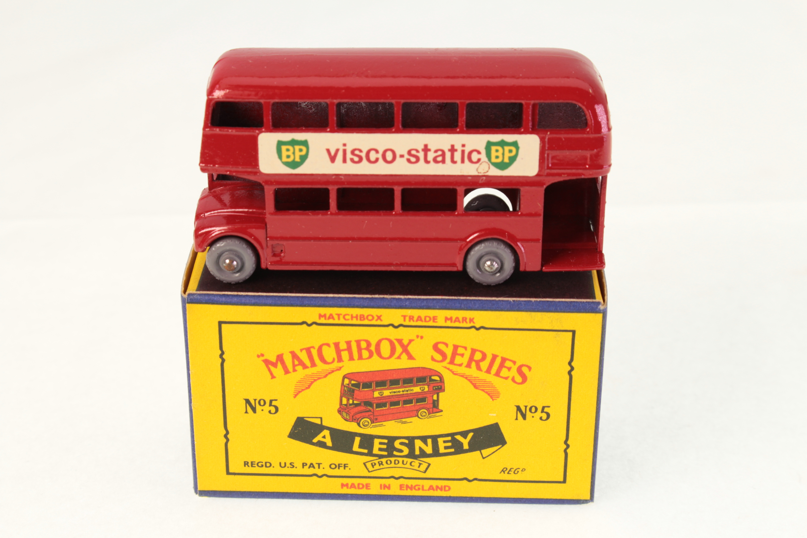 Picture Gallery for Matchbox 5c Routemaster Bus