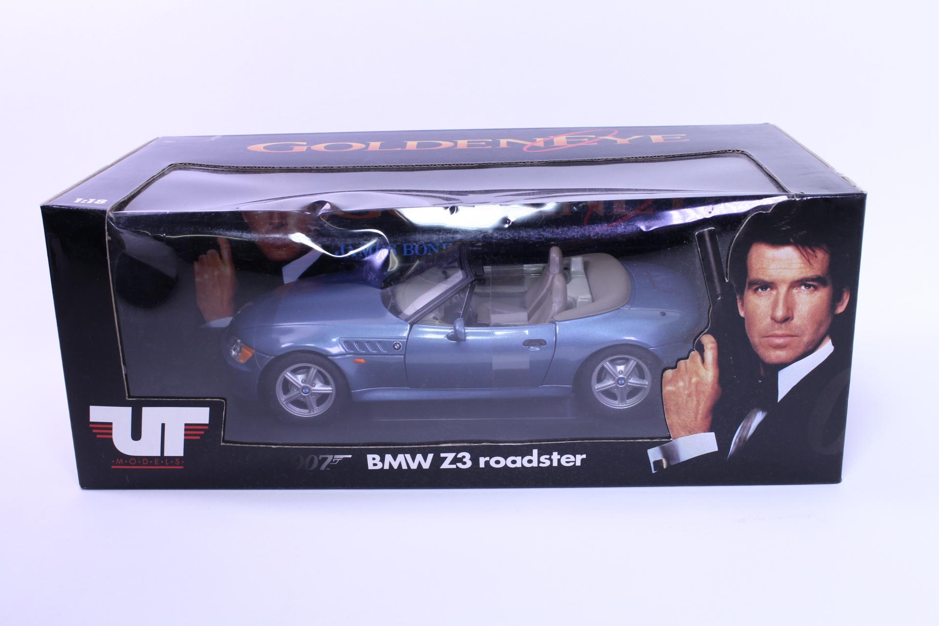 grey Minichamps 1:43 BMW Z3-1997