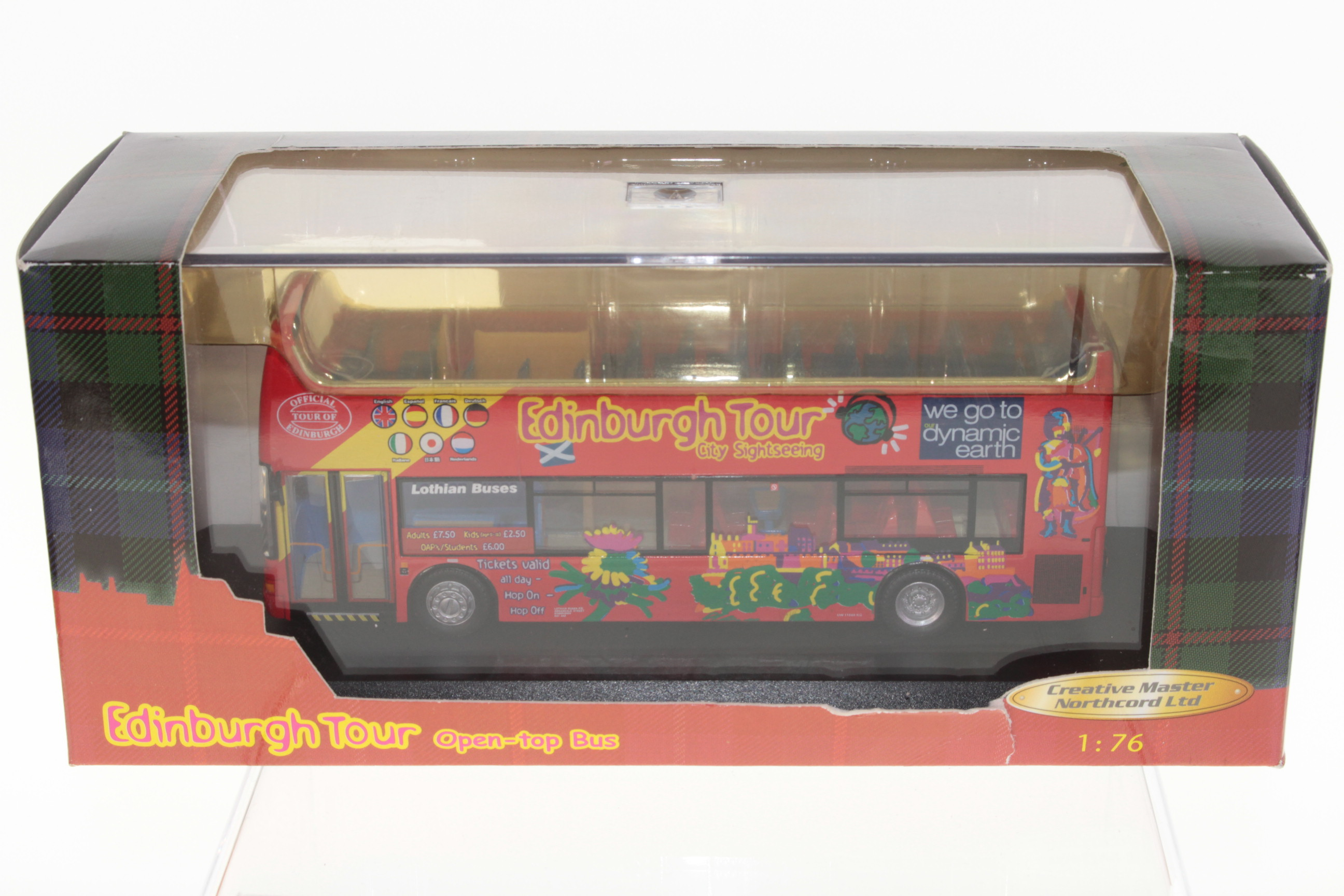 Picture Gallery for Creative Master UKBUS2001 Dennis Trident Open Top