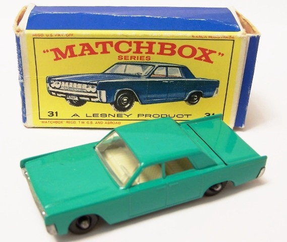 Picture Gallery for Matchbox 31c Lincoln Continental