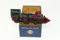Matchbox Yesteryear #Y13 - Santa Fe Loco - Dark Green/Maroon
