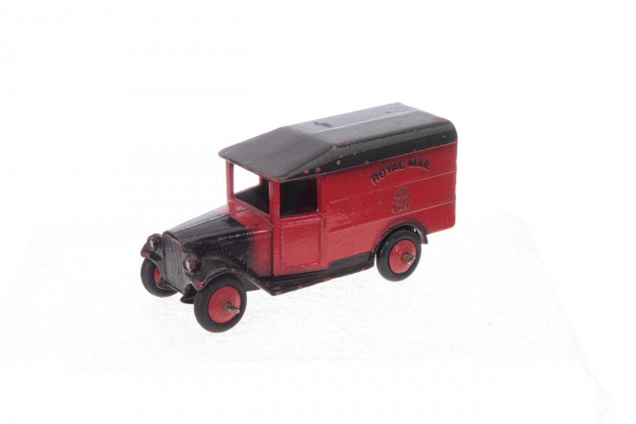 Dinky #34b - Royal Mail Van - Red/Black