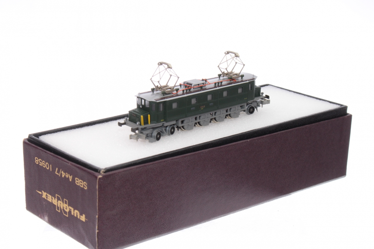 Picture Gallery for Fulgurex 10958 SBB Ae4/7 Loco