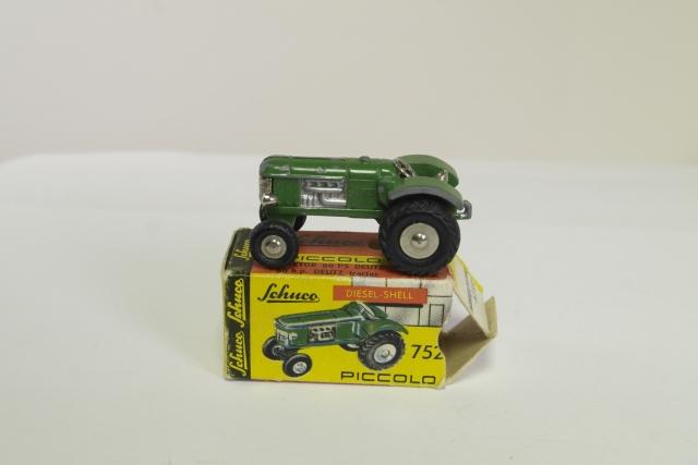 schuco 752 deutzs 60ps tractor   green   buy it now 111