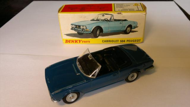 Dinky 1423 Peugeot 504 Cabriolet Free Price Guide Review