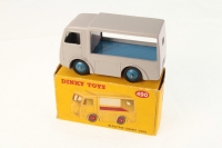 Dinky #490 - Electric Dairy Van (Express Dairy) - Grey/Blue