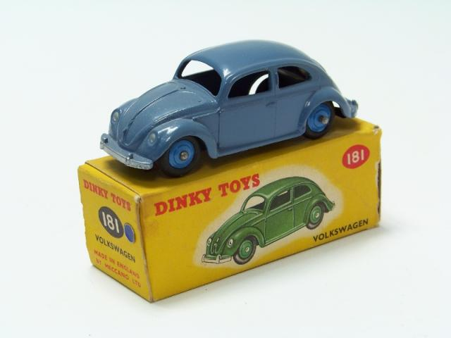Repro Box Dinky Nr.181  VW Käfer