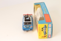 Corgi #302 - Hillman Hunter Rally Car - Blue/Black