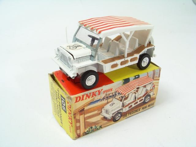 Dinky Toys 106 The Prisoner Mini Moke 1967 A3 Size Poster Advert Leaflet Sign