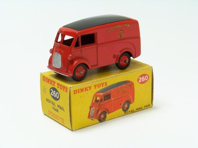 Picture Gallery for Dinky 260 Royal Mail Van