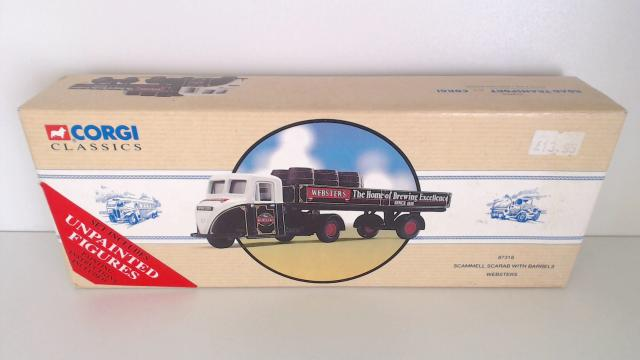 Picture Gallery for Corgi 97318 Scammell Scarab