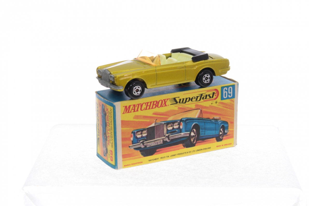 Picture Gallery for Matchbox 69c Rolls Royce Silver Shadow