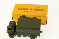 Dinky #623 - Army Covered Wagon - Green