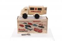Brimtoy #537 - Ambulance - Cream (Clockwork)