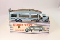 Dinky #982 - Pullmore Car Transporter - Dark Blue/Light Blue