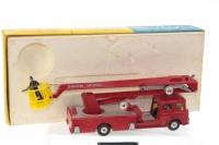 Corgi #1127 - Simon Snorkel Fire Engine - Red
