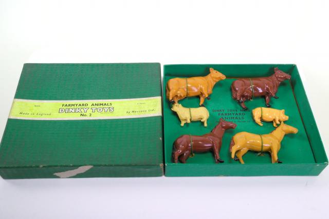 Picture Gallery for Dinky 02 Farmyard Animals Set