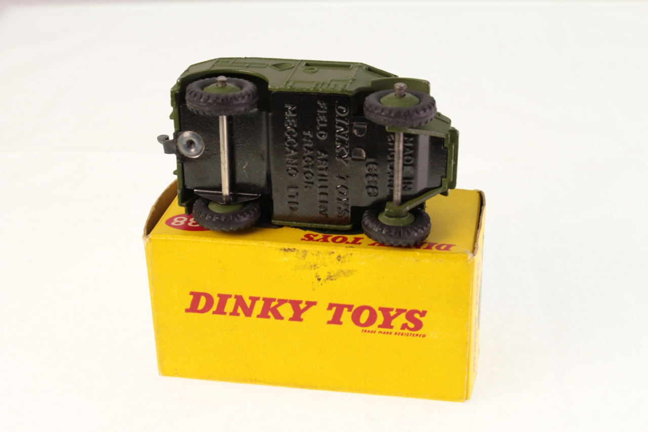 Dinky #688 - Field Artillery Tractor - Green