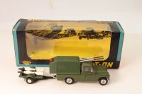 Spot-On #419 - Land Rover Missile Carrier - Green