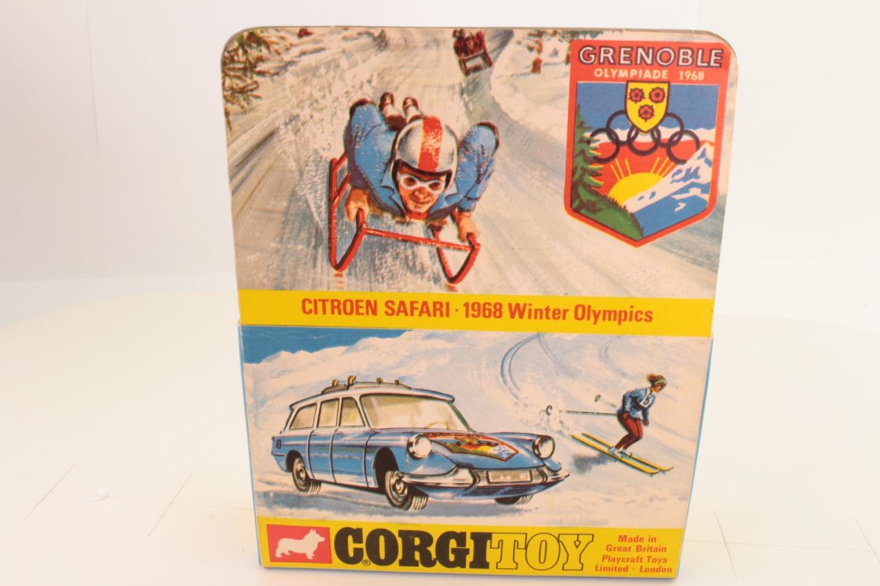 Corgi #499 - Citroen 1968 Olympic - Blue/White