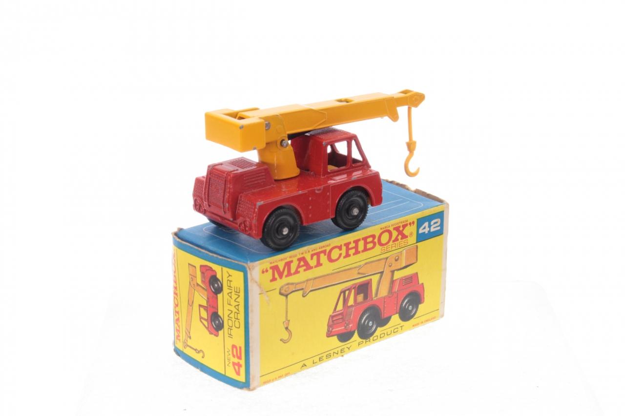 Matchbox #42c - Iron Fairy Crane - Red