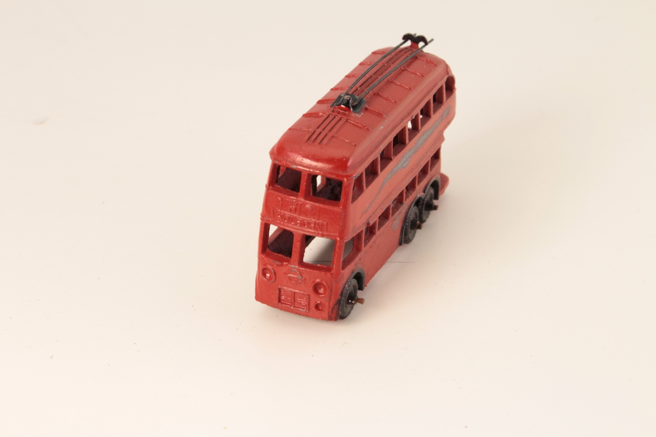 Taylor and Barrett #197 - Trolley Bus - Red
