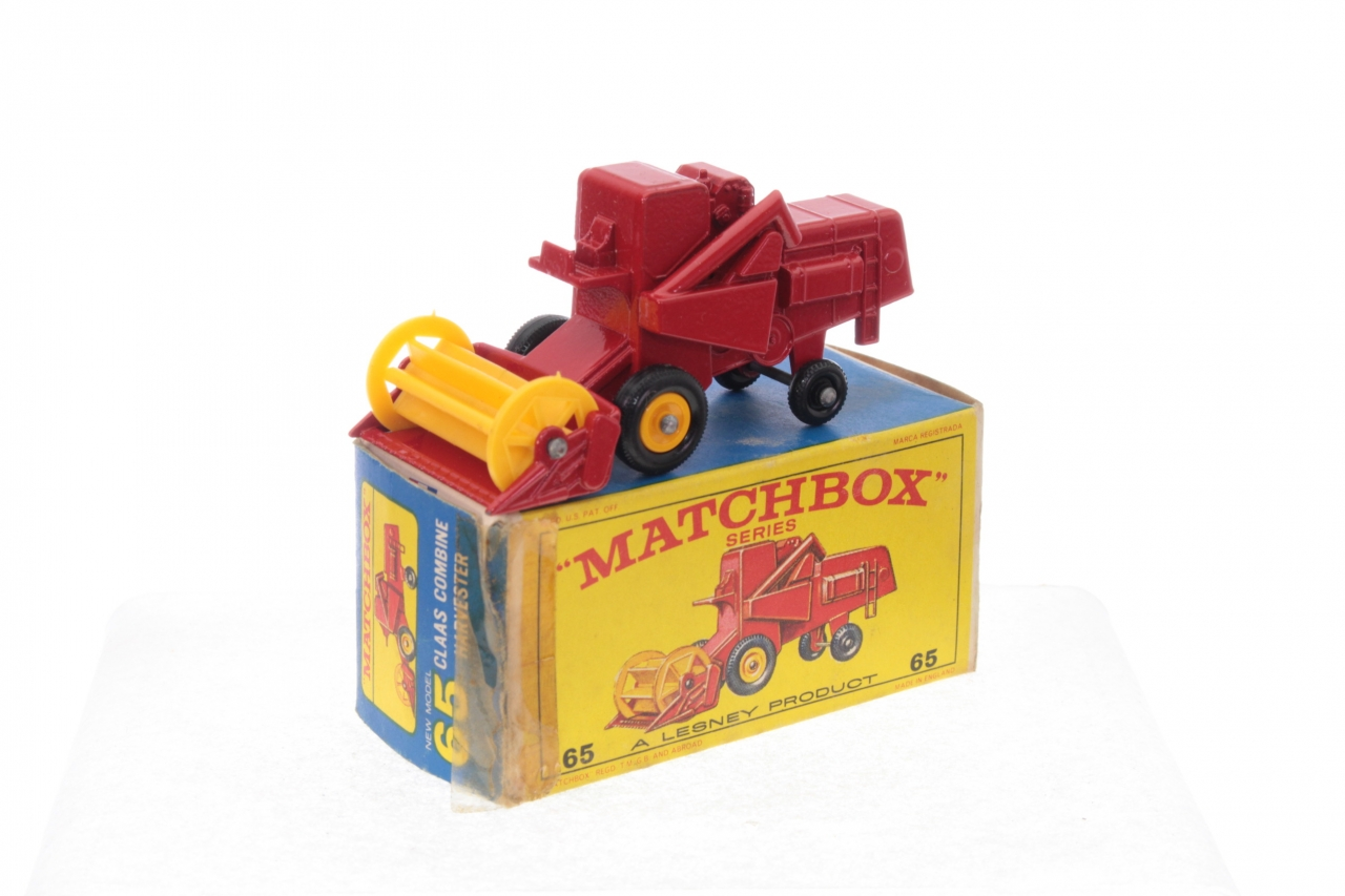 Picture Gallery for Matchbox 65c Claas Combine Harvester