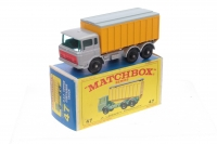 Matchbox #47c - DAF Container Truck - Silver